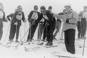 Pila Ski School - First competitions